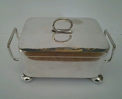 Silver Plated Butter Dish Holder