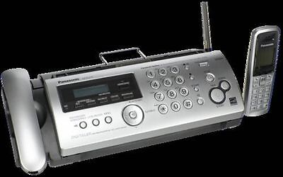 Panasonic KX-FC275E Compact Plain Paper Fax With DECT Handset And Answering Mach