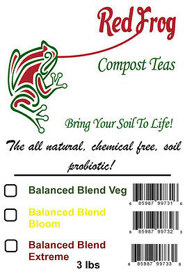 3lbs Ultimate Bloom Blend Compost Tea; Favored By Medicinal Growers in Retail