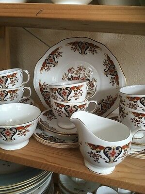 Vintage Colclough Royale 21 Piece Tea Set Wedding /Party