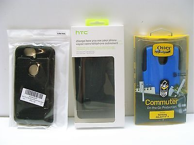 Lot of Cell Phone Cases Otterbox Commuter Samsung Galaxy HTC Ice View Nexus New