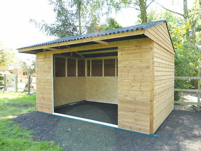 FIELD SHELTER FOR SALE 14x12 (MOBILE STABLE / SHELTER)