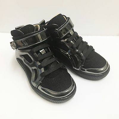 Trendy Baby Boys Designer Boots by Young Versace - Size EU-24 / UK-7 / 8