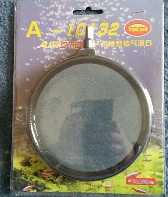 Ceramic Air Stone Bubble Ring Disc Pond Aquarium Diffuser KOI,POND,FISH 132mm 5""