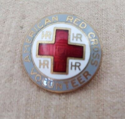 """1923 """"Hospital & Recreation"""" Volunteer Service Pins of the American Red Cross"""