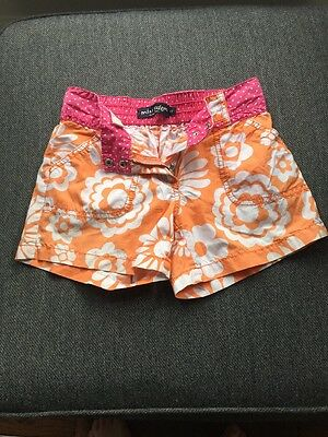 Mini Boden Girls Shorts With Adjustable Waist Age 11 Years