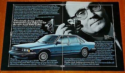 Cool 1981 Audi 5000 Turbo With This Device American Ad - Euro 80S Retro Auto