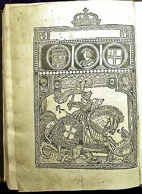 Caxton & Higden Polycronycon Polychronicon 1527 Treveris ILLUSTRATED English