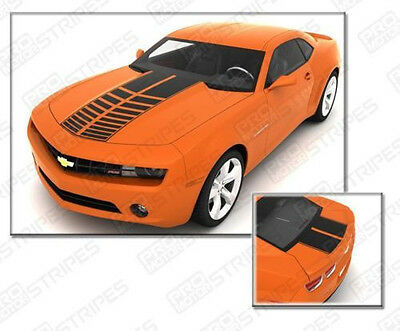 Chevrolet Camaro 2010-2015 Sport Rally Strobe Stripes (Choose Color)