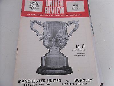 1969 Fa League Cup Manchester United  V  Burnley