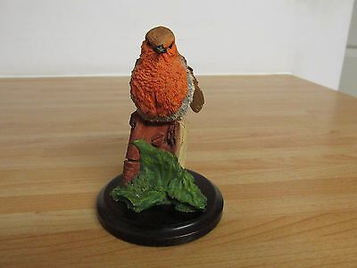 Vintage Country Artist Crafted And Painted By Hand Woodstock Robin Ca509