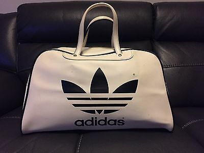 Vintage Original 1970's ADIDAS Peter Black Keighley Hold-all Sports Bag