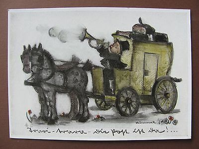 Rare old, from the 30´s  Hummel postcard ++ Mail is here ++  Nr.5549 unwritten