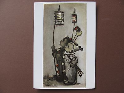 Rare old, from the 30´s  Hummel postcard ++ Carnival boys +++  Nr.4923 unwritten