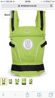 Manduca Baby Carrier High Five Limited Edition RRP £120