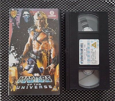 Masters Of The Universe - He-Man - Dolph Lundgren - Vhs Video