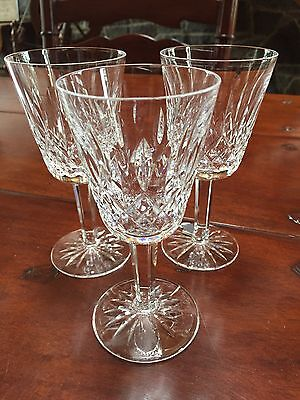 3 Tyrone Crystal Glasses From Ireland