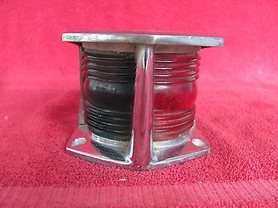 Old Vintage Mast Nautical Boat Light Lamp Port Starboard Red Green Lens Marker