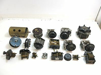 Large Lot Of Antique / Vintage Radio Variable Orthometric Condensers Parts