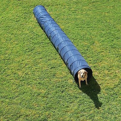 Dog Tunnel Extra Long Agility Training Play Sport Garden Park Exercise Transport
