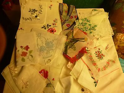 Handkerchiefs Lot of 27 New With Labels