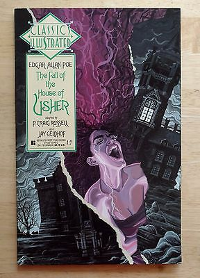 Classics Illustrated Edgar Allan Poe The Fall of The House of Usher - 1990