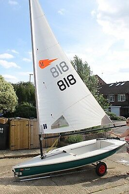 Comet Sailing Dinghy mino rig - EXCEPTIONAL CONDITION