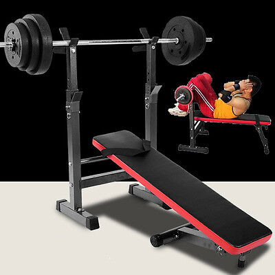 Gym Weight Lifting Utility Bench Flat Shoulder Chest Press Weight Bench Barbell