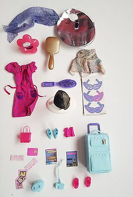FAB barbie assorted clothing and accessories