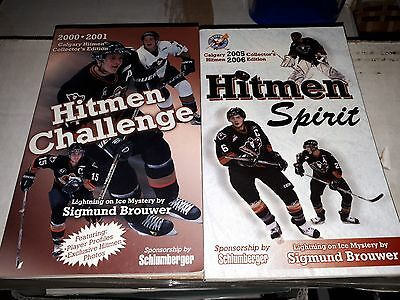 Whl collectible books  nhl players  2000 n  2005  wow FREE SHIPPING