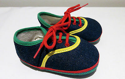 baby dolls vintage shoes BABY DEER Children  Size 2  trainers boys 3 - 6 months