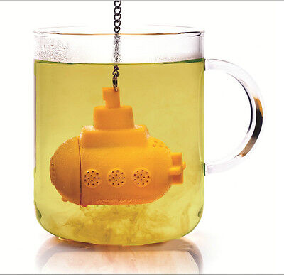 Teasub Submarine Silicone Tea Infuser Leaf Strainer Herbal Spice Filter Diffuser