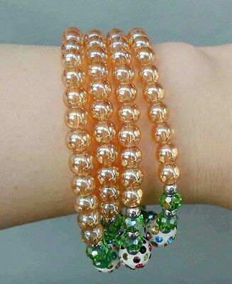 Chinese Handwork Decoration Crystal Crafted Beads Fashion Delicate Bracelet