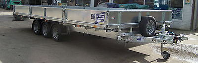 Ifor Williams Trailer Lm 208 Drop Side Massive Farm Transporter Recovery