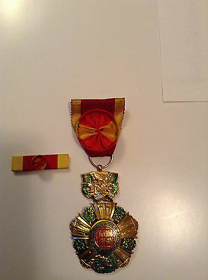 VNCH National order medal 4th class