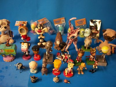Lot Of 32 Assorted Bobbleheads