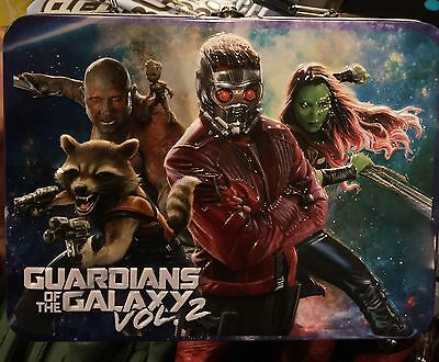 Guardians Of The Galaxy Metal Lunchbox. Brand New. Regular Size.