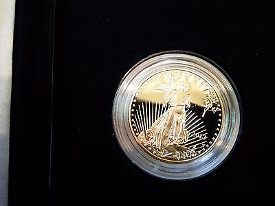 2013 1/2 oz $25.00 Gold American Eagle Proof w/COA and Mint Box