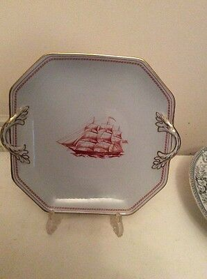 "Spode ""Ship Pepperelle"" Plate"