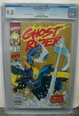 GHOST RIDER Vol. 2 #9 cgc 9.8 Guest Starring X-FACTOR