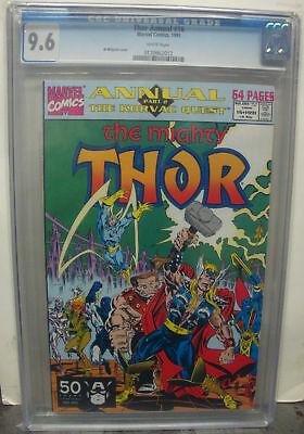 THOR ANNUAL #16 cgc 9.6 Guardians of the Galaxy 1991