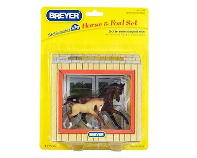 Breyer 5924 Sport Horse and Foal Bay