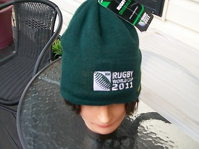 supporters hat  beanie south africa team team rugby union 2011 world cup