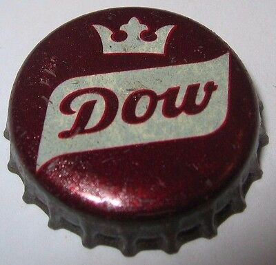 Dow Beer Bottle Cap; 1960-63; Montreal, Canada; Used Cork