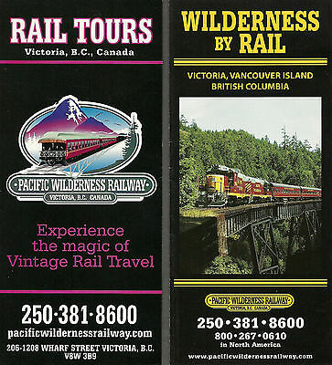 Pacific Wilderness Railway Timecard And Folder