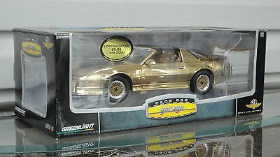 ~ Greenlight 1989 Pontiac Trans Am Indy Pace Car - 24kt GOLD - 1:18 Scale ~