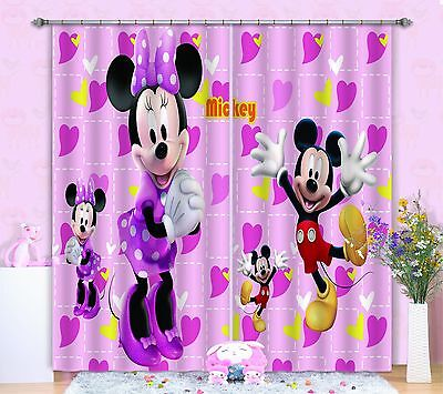 3D Cartoon 9021 Blockout Photo Curtain Printing Curtains Drapes Fabric Window CA