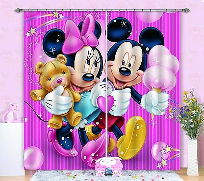 3D Cartoon 7911 Blockout Photo Curtain Printing Curtains Drapes Fabric Window CA