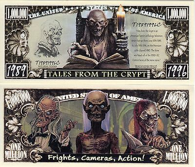 Tales of the Crypt  Million Dollar Novelty Money