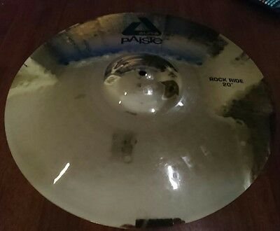 Paiste ALPHA ROCK RIDE 20 inch ride cymbal fantastic sound